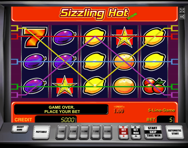 Sizzling-Hot-Spielautomat